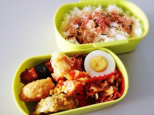 今日のお弁当 No.220 – たらこ