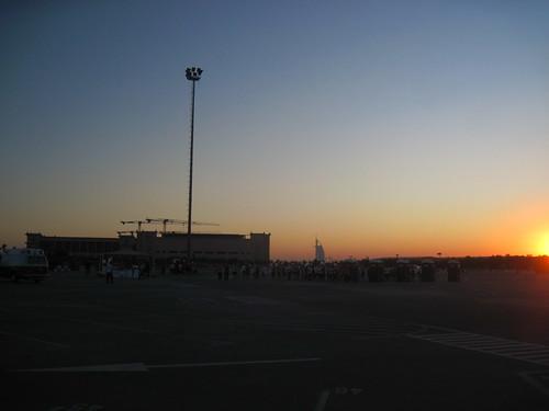 Burj al Arab in Distance