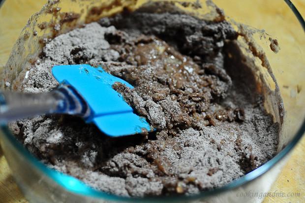 Eggless Chocolate Coffee Self-Saucing Pudding