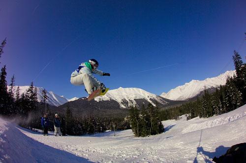 Snowboarder & Hotel.jpg