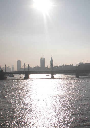 Thames from Waterloo Bridge