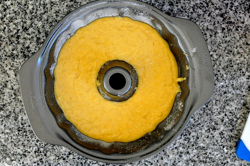 Orange Cardamom Bundt Cake