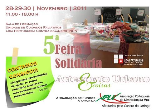 V Feira Solidaria no IPO do Porto by ♥Linhas Arrojadas Atelier de costura♥Sonyaxana