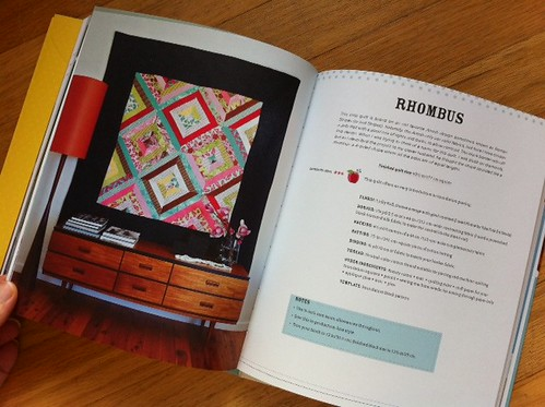 Rhombus - Little Bits Quilting Bee