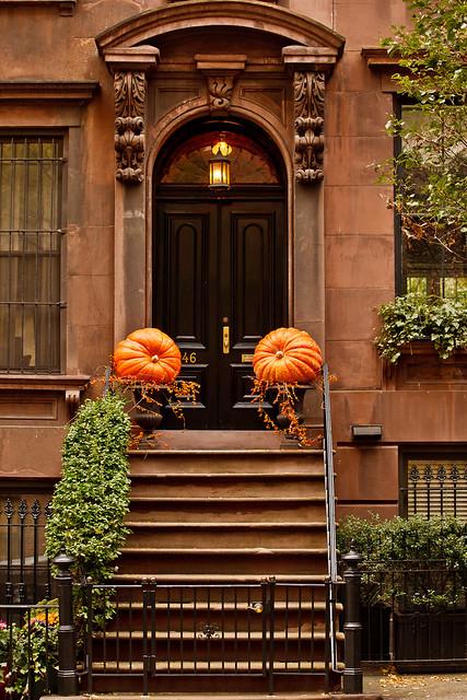 312/365 - November 8, 2011 - Pumpkin Bookends