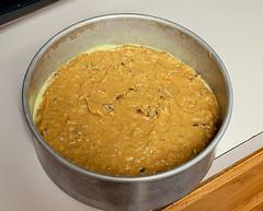 Sweet Potato Pecan Coconut Cake