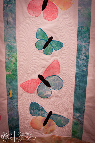 Butterfly Quilt in Progress