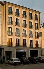 Vista panorámica de la fachada principal
