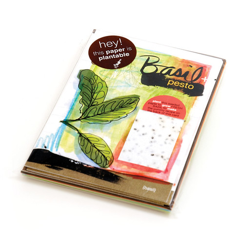 Plantable recipe cards