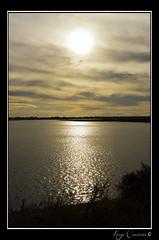 Going Down (Hugo Carvoeira) Tags: sunset sun color portugal clouds faro beginning copper end algarve formosa brass ria ludo