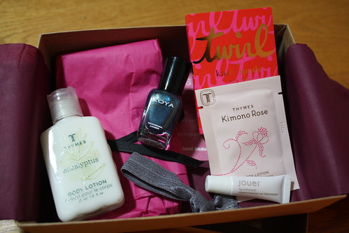 November Birchbox goodies
