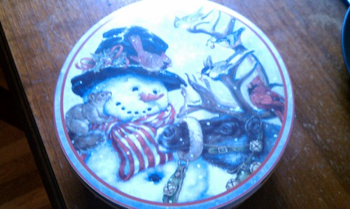 Yay! Festive Cookie Tin!