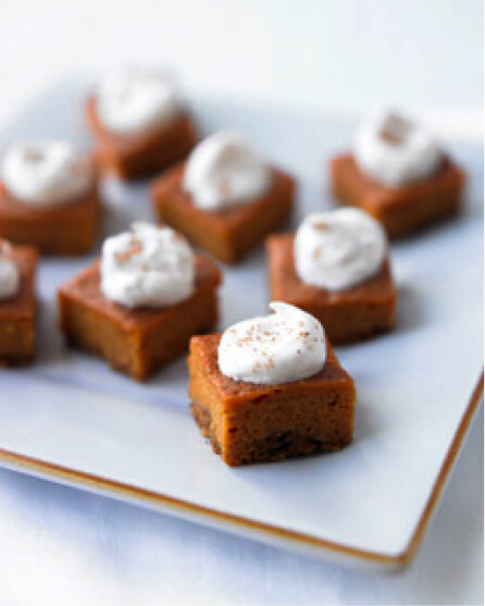 Edible Obsessions: Pumpkin Pie Bites