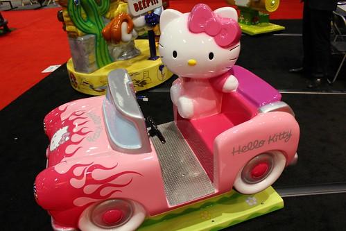Hello Kitty ride