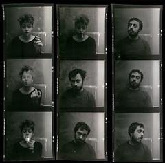 .. (spiros pantazis) Tags: portrait white black film analog expression chemical spiros pantazis
