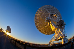 VLA Radio Antennas At Sunset (howardignatius) Tags: newmexico vla