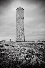 Another one of Scolty Tower, Banchory, Aberdeenshire. (Greig Reid) Tags: blackandwhite tower monument landscape scotland photo blackwhite aberdeenshire general image outdoor sony hill 350 burnett banchory grampian scolty a350 sonyalpha tpablackwhite