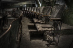 Empty Theatre Seats (Frank C. Grace (Trig Photography)) Tags: abandoned architecture dark ma theater chairs theatre pentax decay empty seat massachusetts architectural creepy architect seats restoration hdr orpheum vaudeville k5 helpers urbex beauxarts photomatix route18 orph urbanexploration tonemapped newengland wwworphincorg newbedford trigphotography frankcgrace frenchsharpshooters waterstreet performingarts leclubdesfrancstireurs louisdestremps