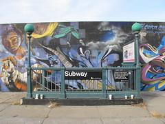 Bushwick subway stop