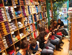 You enjoy knitting? You are welcome! (sifis) Tags: city wool alpaca shop shopping store sweater knitting natural quality group knit center merino athens hobby class yarn create tradition fibers yarns  sakalak       sakalakwool