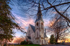 Forks of the Brandywine Presbyterian Church (linden.g) Tags: sky clouds canon lens churches shift pa tilt hdr 17mm