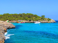 Cala Llombards, Mallorca (twiga_swala) Tags: ocean sea beach island scenery mediterranean cove scenic playa mallorca plage cala majorca baleares balearen balearic balears santany crique majorque llombards
