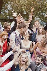 The Moment Of True Happiness (Foto Perlas) Tags: wedding summer laughing groom bride husbandandwife happycouple daytime groupphoto canondslr inlove newlyweds brideandgroom vintagestyle weddingphoto capturingthemoment veryhappy weddingphotography romanticmoment manandawoman vintagewedding naturalemotion fotoperlas tadascerniauskas