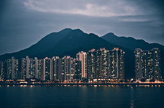 (jim_213) Tags: light sea night buildings landscape hongkong sony nightview a55 sal1680z