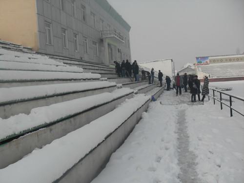 Последствия снегопада в Курган-тюбе (4)
