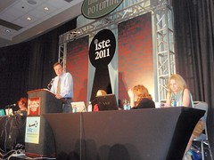 Doug Johnson introduces his panel for the SIGMS Forum (from D. Cordell's flickr stream)