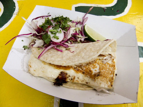 Cheese Quesadilla, Rockaway Taco
