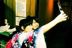 來來來~手機自拍 (Pearl Hsieh) Tags: japan 大阪 日本 osaka yumi 室友 weiting