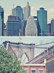 i love NY (Carmen Creative) Tags: newyorkcity summer view brooklynbridge nikond7000