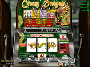 Crazy Dragon Slot Machine