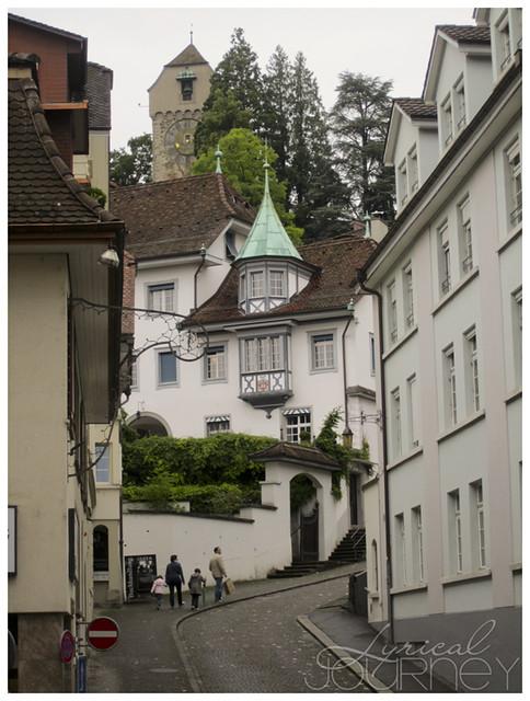 Luzern Old Town Street