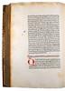 Nota mark and rubrication in Honorius Augustodunensis: De praedestinatione et libero arbitrio
