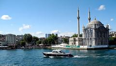 sailing the Bosphorus.  Istanbul (Neil. Moralee) Tags: turkey boat sailing ship harbour neil istanbul sailor bosphorus moralee