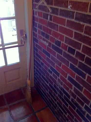 ドアほうき