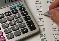 銀行口座の残高計算