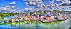 Auray 2- Francia (-QIQ-) Tags: europa nubes francia hdr viajar auray surrealista