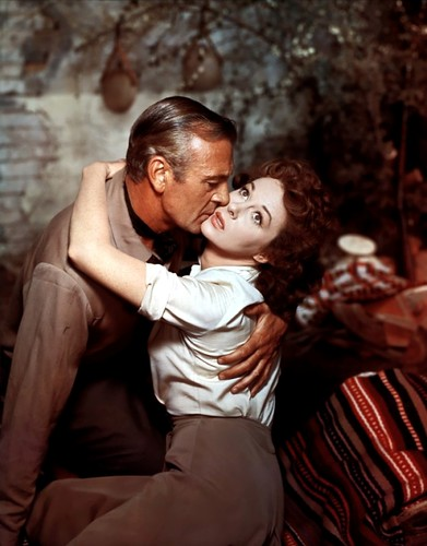 Gary Cooper, Susan Hayward -  by Jack's Movie Mania