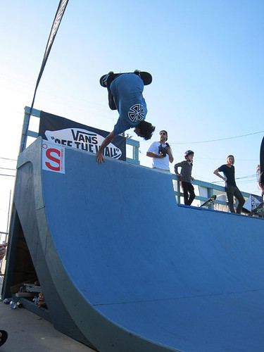 Pacific Drive X Vans Take Back the Alley 2 Mini Ramp Contest