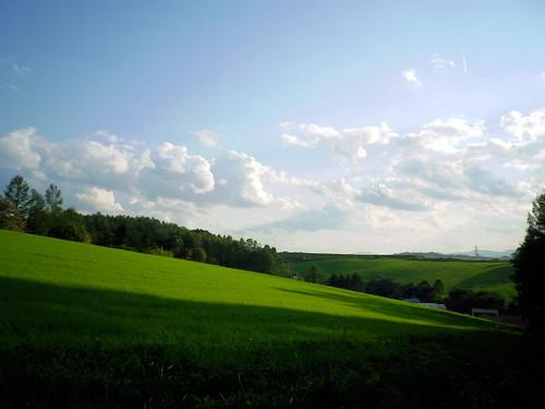 新緑の丘~就実