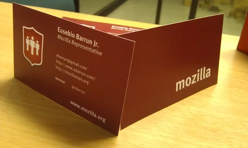 6219722561 efe6247e19 Mozilla Reps Business Card is AWESOME!