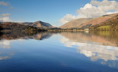 DSC_5652 Grasmere (wilkie,j ( says NO to badger cull :() Tags: winter light mountains clouds reflections landscape nikon grasmere lakes lakedistrict cumbria nationalparks nationaltrust