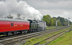 SR Bullied 34007 Wadebridge TPO (FlyingScotsman4472) Tags: autumn office post smoke steam gala sr wadebridge gcr bullied tpo 34007