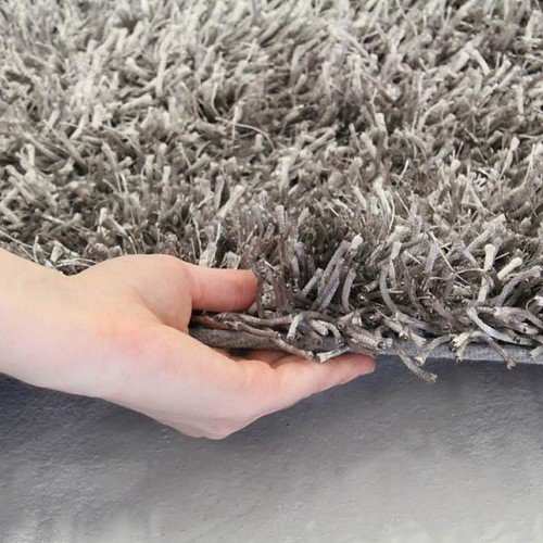 metalic thin/thick shag rug $179 - 1 available