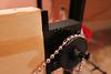 3D Printed Polargraph Ball-Chain Pulley (jabella) Tags: arduino 3dprinter polargraph