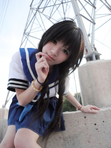 Black Rock Shooter Yomi Takanashi Cosplay