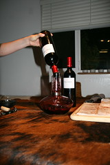 Tradtional decanting